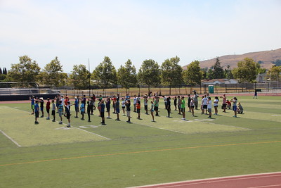 2015-07-01 First Day of Marching Band Camp