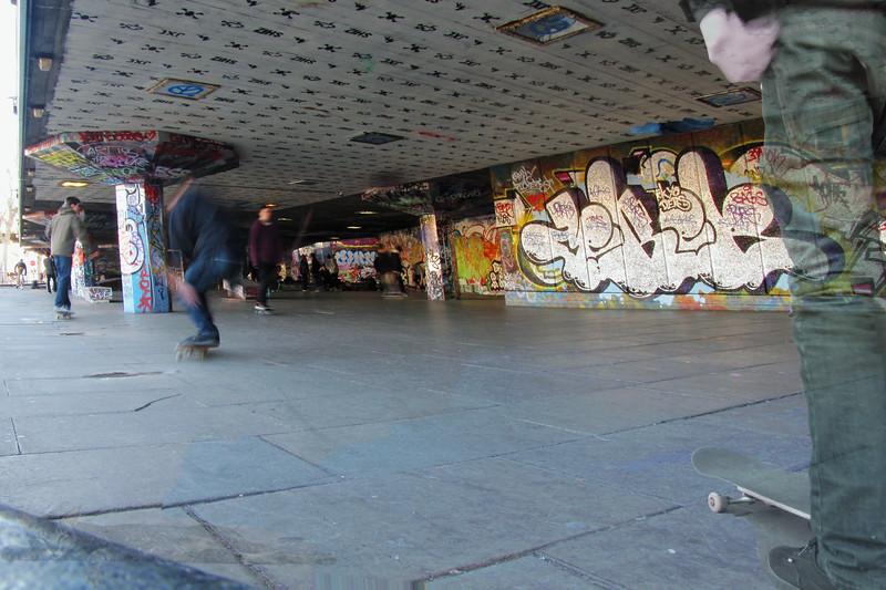 Southbank - Skateboard Park - Doodle