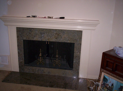 Seafoam Fireplace