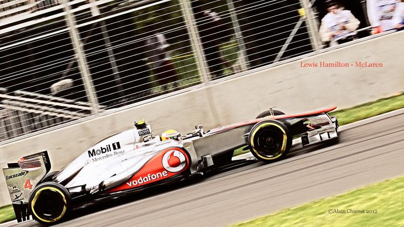 Lewis Hamilton, Montreal, 2012