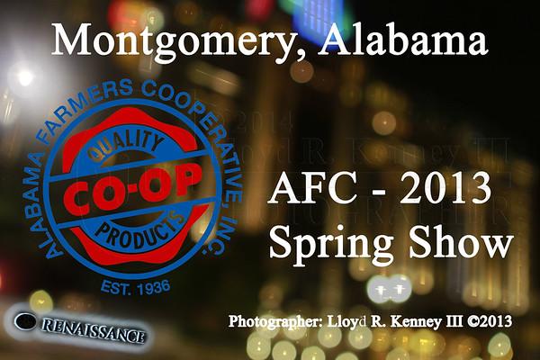 AFC 2013 Spring Show