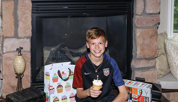 Parker at 13