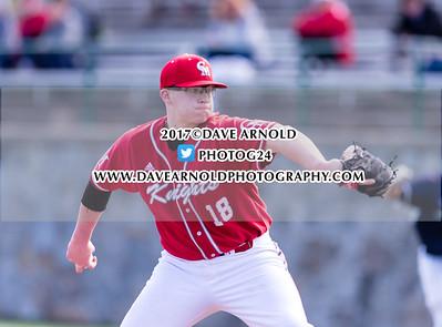 4/3/2017 - Varsity Baseball - St. Johns Prep vs Catholic Memorial