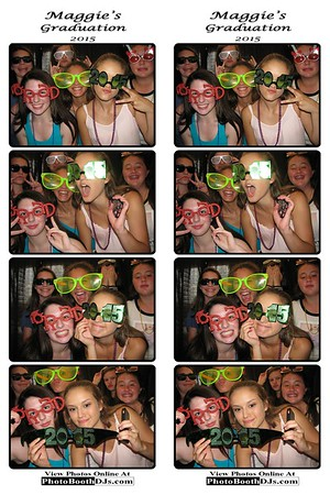 07/25/2015 Maggie's Graduation (PhotoStrips)