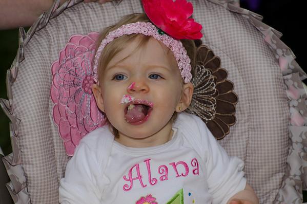 Alana's First Birthday