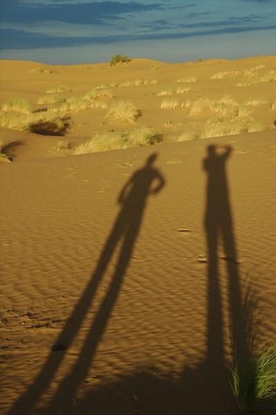 Shadows at Dusk - Karakum Desert, Turkmenistan