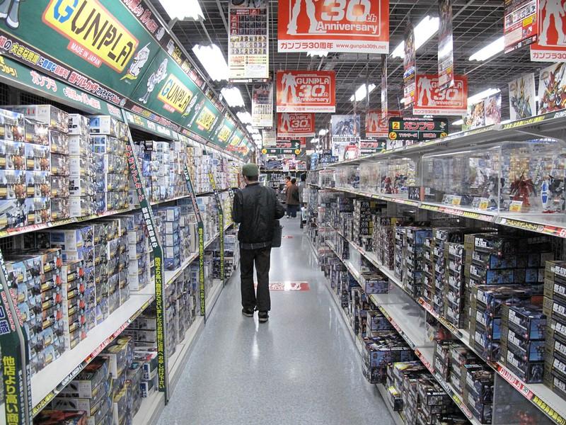Robot model aisle
