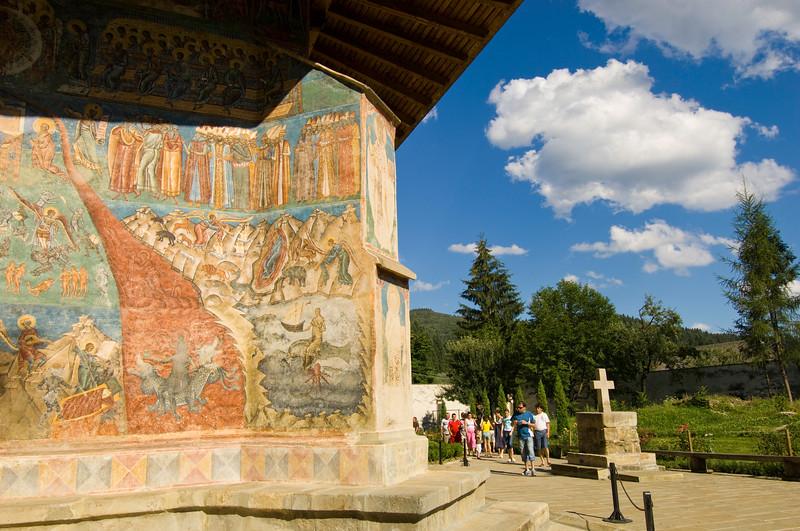 Voronet Monastery, Southern Bucovina, Moldavia, Romania