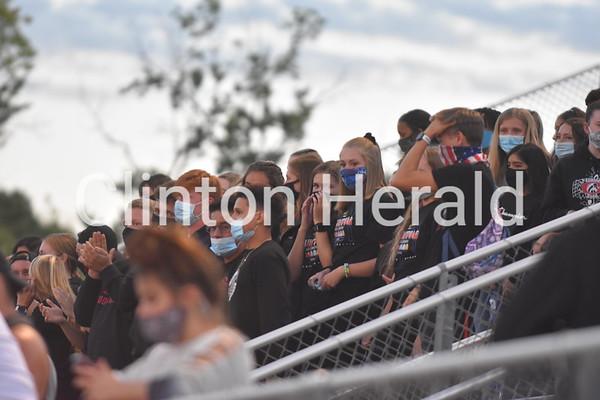 PHOTOS: West Delaware at Clinton football