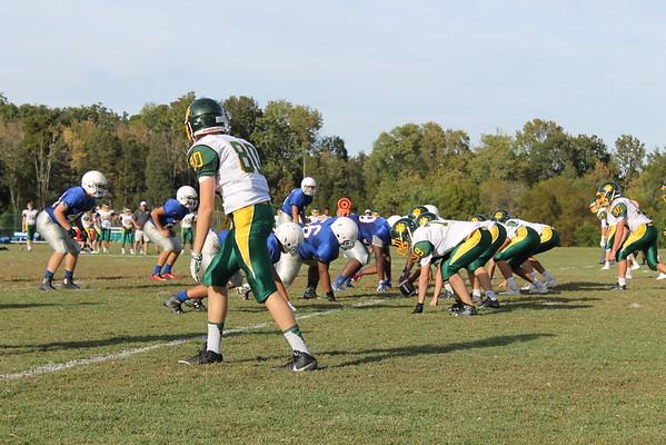 Jr Prep football vs Collegiate