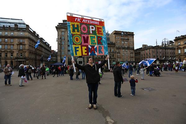 Scrap Trident Rally Glasgow 2015