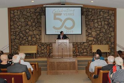 2019 08 18 Jackson Church of Christ 50th Anniversary Celebration (Service & Pot Luck)