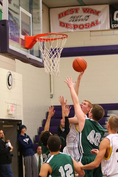 Boys Basketball vs. Hackett - 1/14/16 - KCHS JV