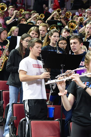 Pep Band at State Volleyball