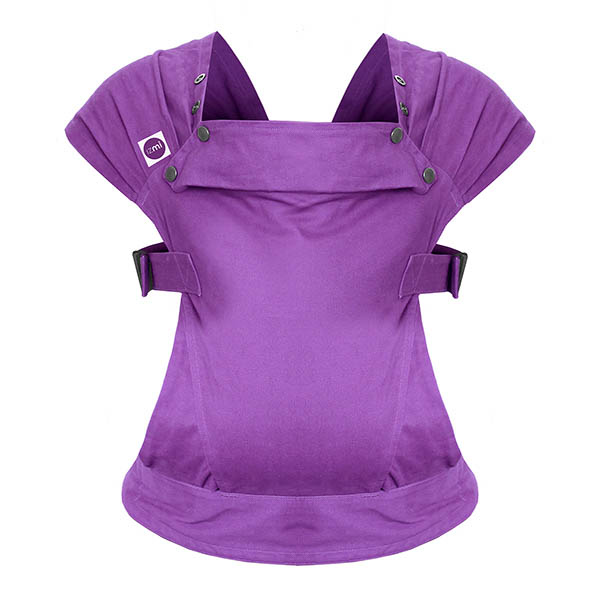 Izmi_Baby_Carrier_Cotton_Purple_Product_Shot_Ghost_Front.jpg