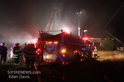 09-03-2012, 2 Alarm Commercial Structure, Bridgeton, Cumberland County, Water St.