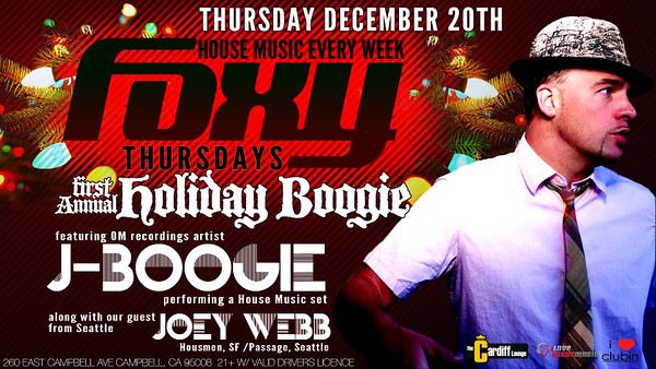 "Foxy Thursdays ""Holiday Boogie"" 12.20.12"