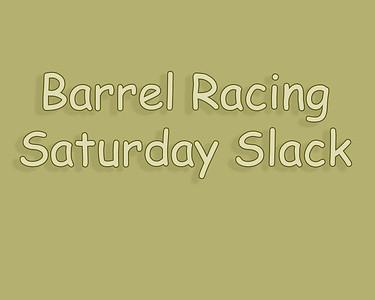 Bow Island 2018 Barrel Racing Saturday Slack
