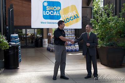 Shop Local Press Conference