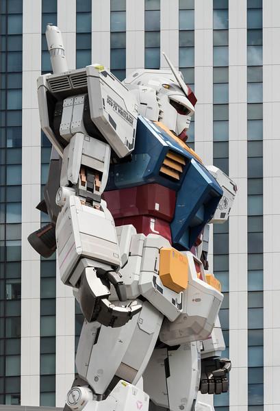 Giant Gundam Robot, Tokyo