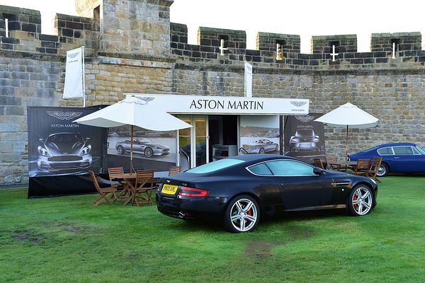 Aston Martin Concours at Alnwick Castle Sep 2015