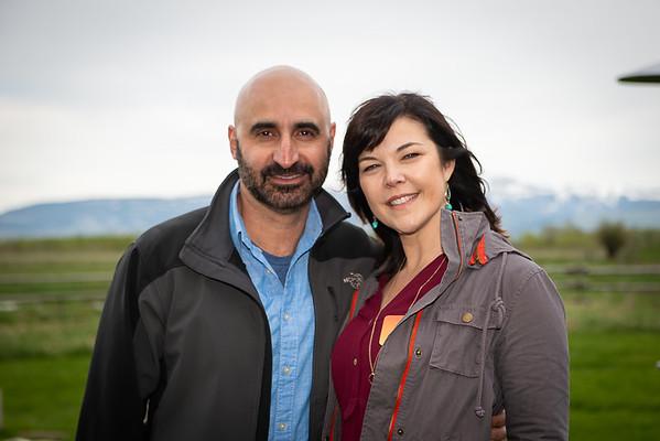 3 Grey Barn Couples Photos
