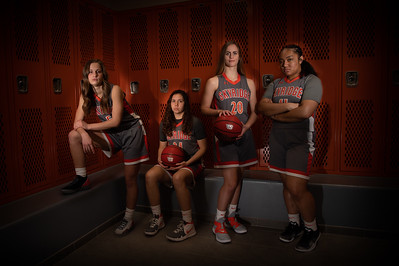 2019 Skyridge Women's Basketball Seniors Photoshoot