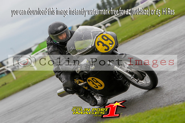 PRACTICE CLASSICS 500cc & UNLIMITED AINTREE RD3 JULY 2016