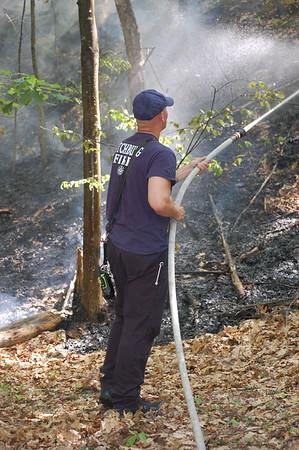ACW Brush Fire - 06/21/2020 - Shattuck St. Fitchburg, MA -