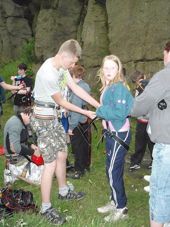 Climbing Scouts June 2011