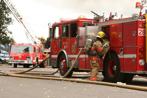 08-07-23 BUCKAROO ROOFING FIRE