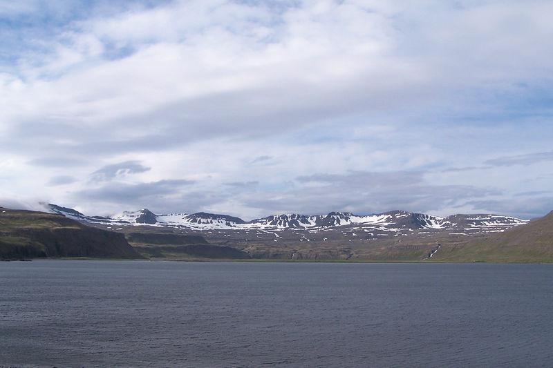 Horft inn í Hornvík frá Stígshúsi