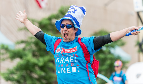 New York City a sea of blue and white for 50th Celebrate Israel Parade