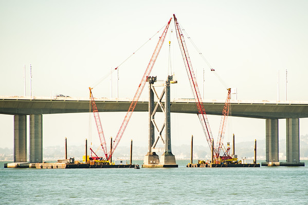 San Francisco Bay Bridge Deconstruction