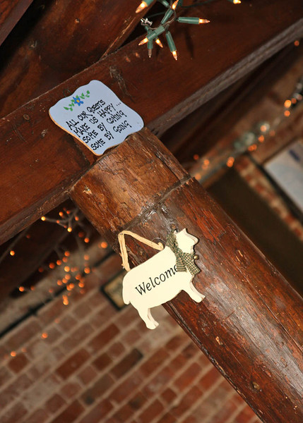 Little quirky details found at Dairy Barns