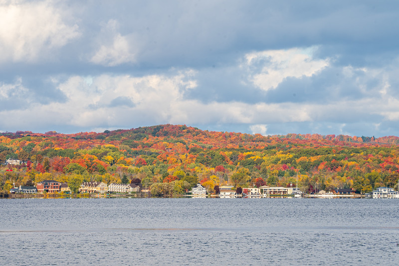 Fall colors in Traverse City