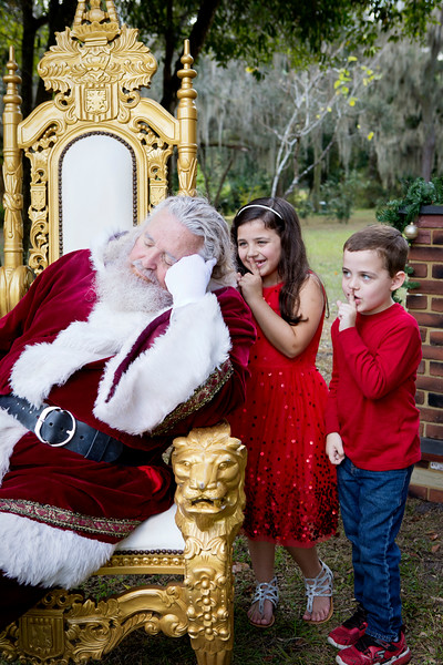 Santa Minis 2018: Addison and Landon!