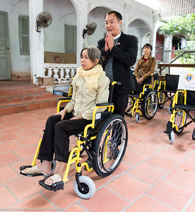 Hai Phong Diocese Wheelchair Deliveries - Day Two
