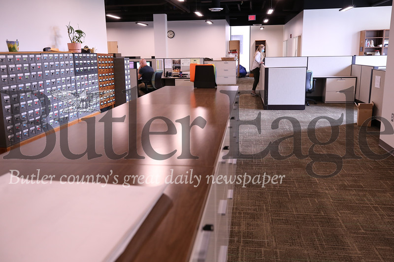 New Government Center office space. Seb Foltz/Butler Eagle