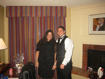 Allison and Justin's Wedding, April 2003