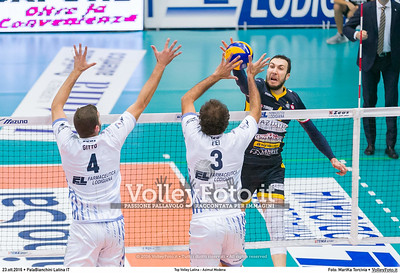 5ª #SuperLega «Top Volley Latina - Azimut Modena»