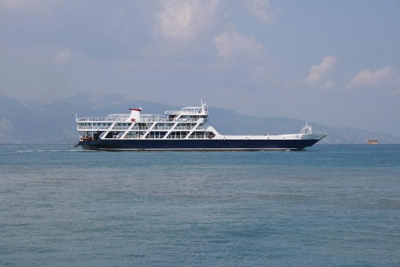 2009 - F/B NANTI sailing from Corfu to Albania.