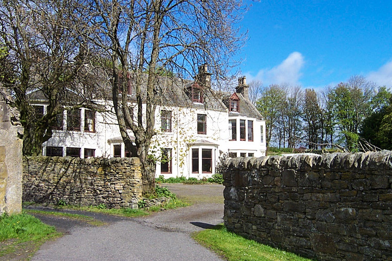 The Minmore House. Our home in Glenlivet