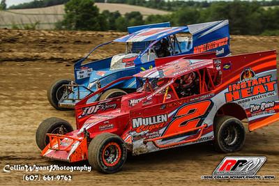 Woodhull Raceway - 6/9/18 - Collin Wyant