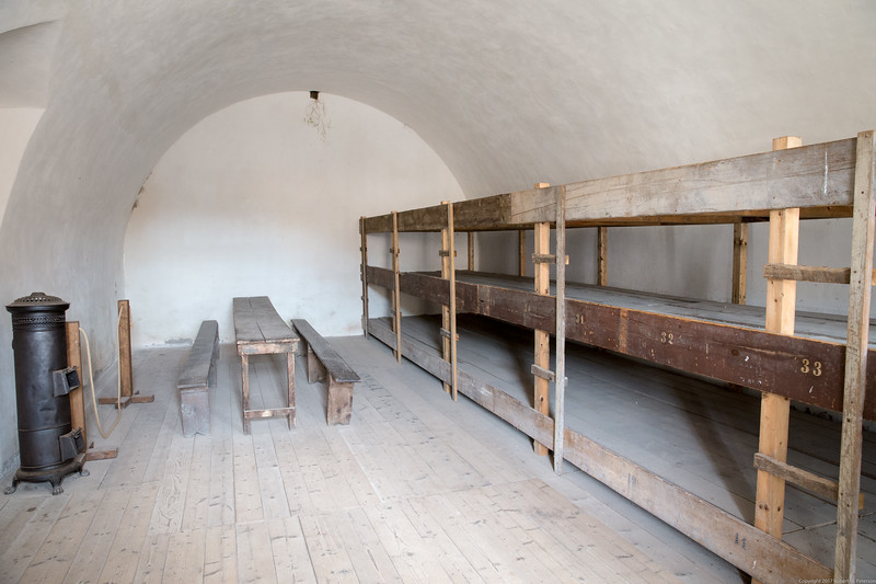 A Group Cell in the Terezín Small Fortress