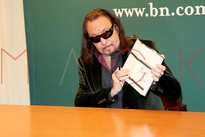 "New York, NY - November 03:  The book signing for ""No Regrets"", New York, USA."