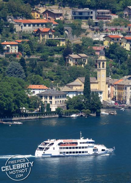 George Clooney and Amal's $131 Million Property, Villa Oleandra, on Lake Como, Laglio, Italy