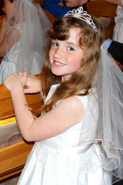 2012 04 Brooke's 1st Communion