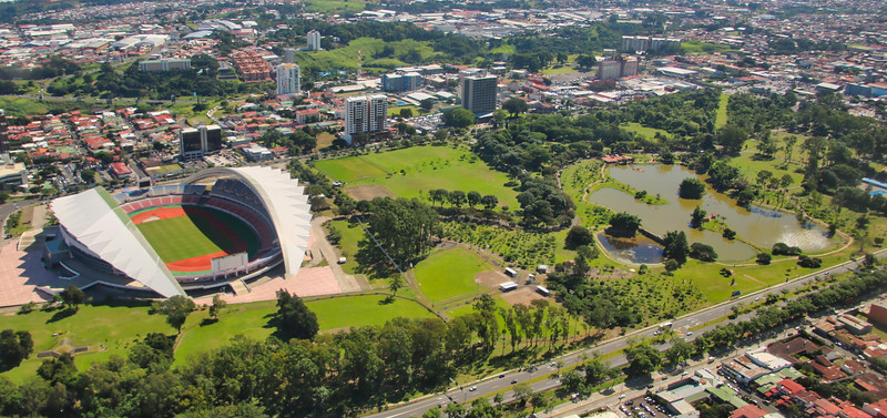 La Sabana Park and National Stadium (Estadio Nacional) San Jose, Costa Rica