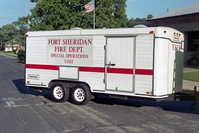 FORT SHERIDAN  FIRE DEPARTMENT  -